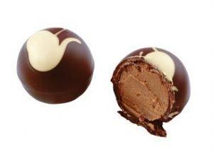 0986 Öltryffel i mörk choklad