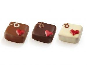 001027 Valentine Chokladpralin