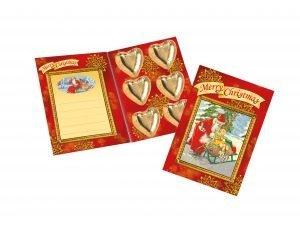 2486 Julkort med choklad (12 st)