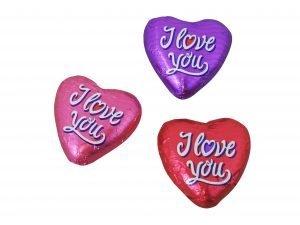 5725 Chokladhjärtan – I love you