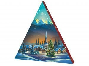 4449 Adventskalender, Kyrka (4 pack)